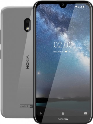 Nokia 2.2 in Black and Steel