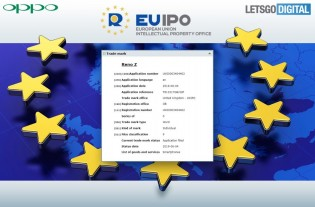 The EUIPO listings of Reno Z and Reno F