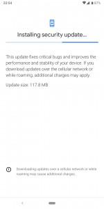 Pixel 3a updates