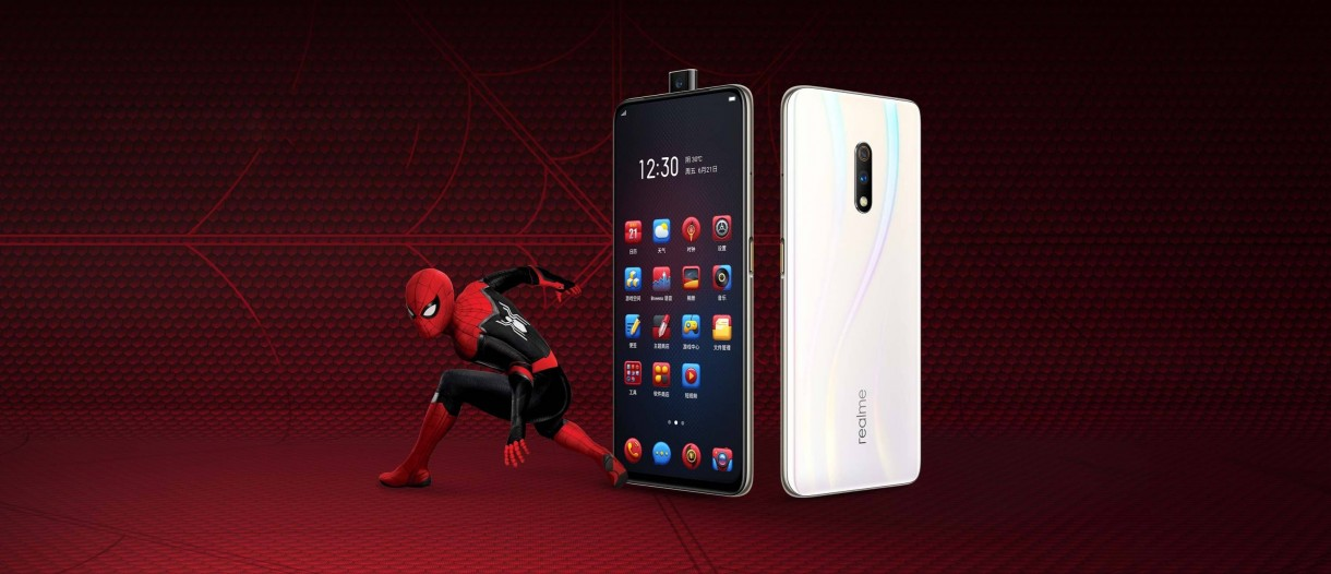 Realme X Spiderman Edition arrives with custom themes in a