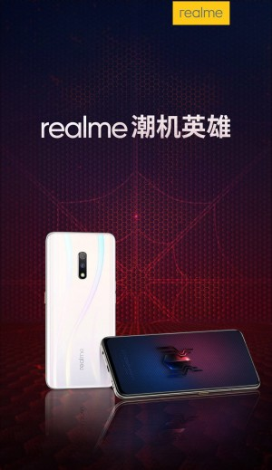 Realme X coming in Spider-Man attire