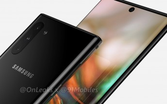 Here's our best look yet at the Samsung Galaxy Note10