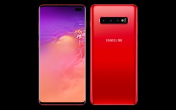 Samsung Galaxy S10 and S10+ now available in Cardinal Red color