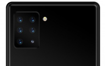 Sony working on a hexa camera smartphone