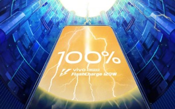 vivo announces 120W Super FlashCharge that tops a 4,000 mAh battery in 13 minutes