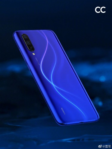 Xiaomi Mi CC9 in Dark Blue Planet color