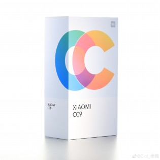 Xiaomi Mi CC9 retail box (leaked renders)