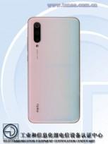Xiaomi Mi CC9 Meitu edition: note the logo