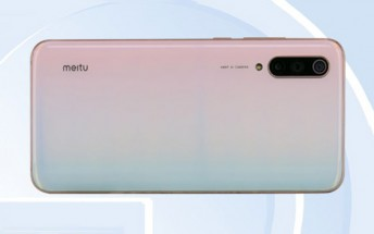 Images and specs of Mi CC9 Meitu edition surface