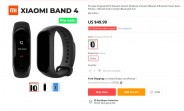 Xiaomi Mi Band 4 up for pre-order before it's even announced
