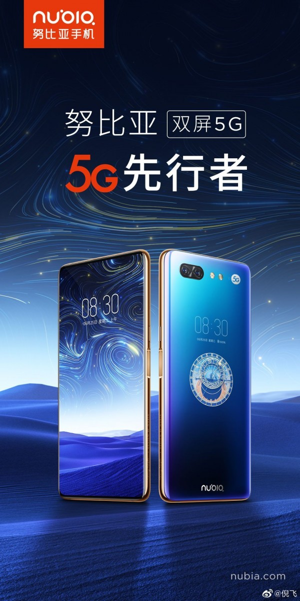 ZTE Nubia X gets a Snapdragon 855 and 5G, will launch in China