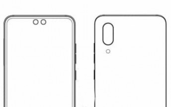 ZTE patents a smartphone with two separate punch-hole cameras