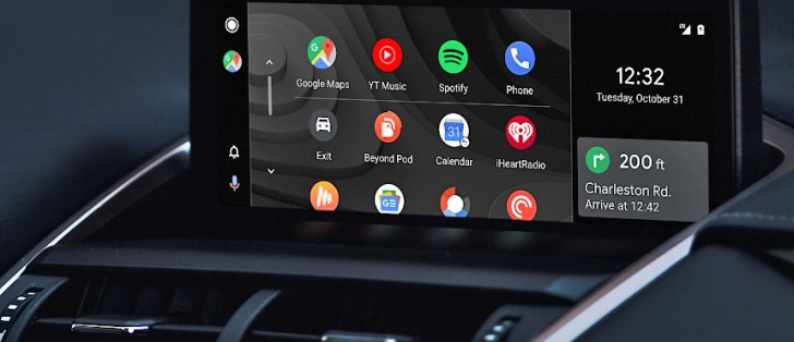 Android Auto updated with new launcher, auto resume, missed