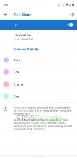 Preferred Visibility