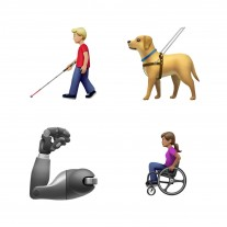 New diversity and disability themed emoji