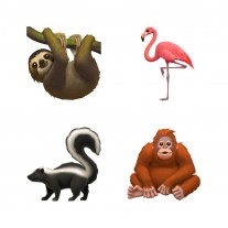New animal, food and clothing emoji