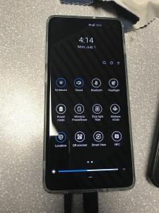Night Mode, QR scanner, Software info