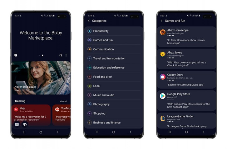 Samsung launches Bixby Marketplace in US and South Korea