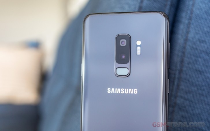 The easily identifiable Samsung Galaxy S9+