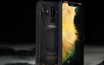 Rugged Doogee S90 Pro announced with Helio P70, 5050 mAh battery