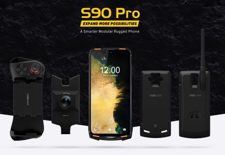 Doogee S90 Pro announced with Helio P70, 5050 mAh battery and rugged-modular design