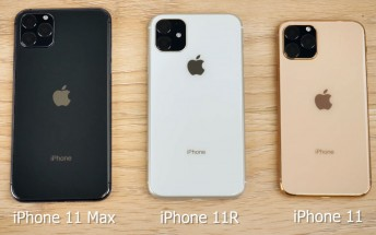 Dummy iPhone 11 trio compared in a video