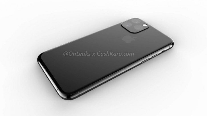 Previously leaked iPhone 11 render
