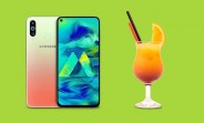 Samsung Galaxy M40 gets limited edition Cocktail Orange for Amazon Prime Day