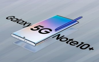 Another Samsung Galaxy Note10+ 5G image leaks