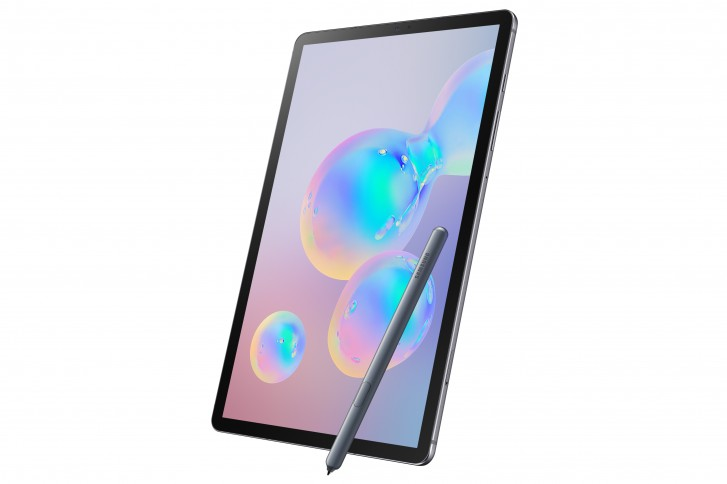 Samsung Galaxy Tab S6 with improved S Pen and UD fingerprint reader announced