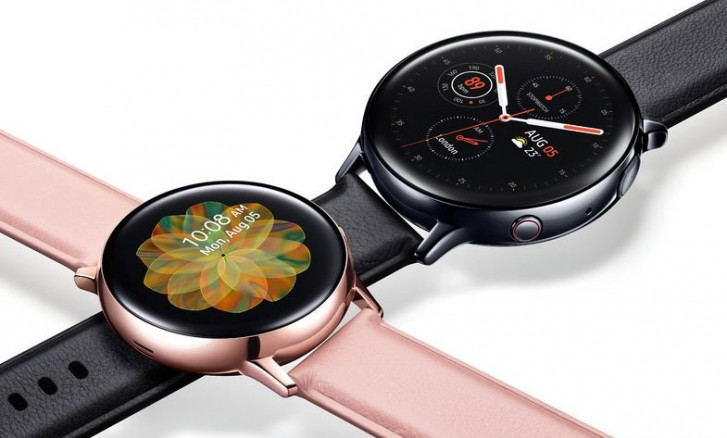 Alleged Galaxy Watch Active 2 renders