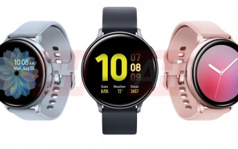 Samsung Galaxy Watch Active 2 leak shows it in all colors