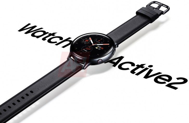 Samsung Galaxy Watch Active 2 leaks in official-looking promo image