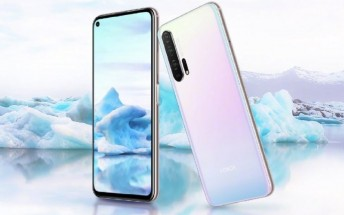Honor 20 Pro Icelandic Illusion color goes on sale in China