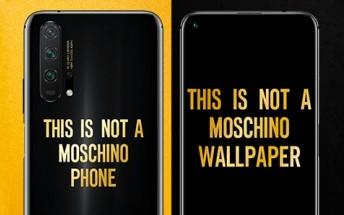 Honor 20 Pro Moschino Edition arrives tomorrow