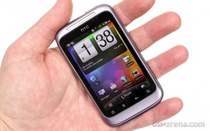 HTC Wildfire S from 2011