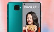 Huawei nova 5i Pro is official - Kirin 810, quad camera, 4,000mAh battery