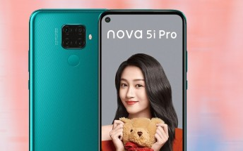 Huawei nova 5i Pro is official - Kirin 810, quad camera, 4,000mAh battery