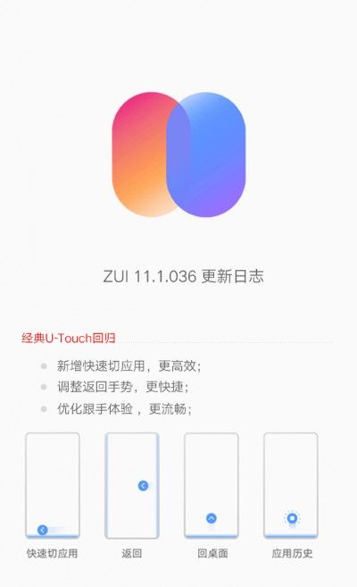 ZUI 11.1 update live for Lenovo Z6 Pro