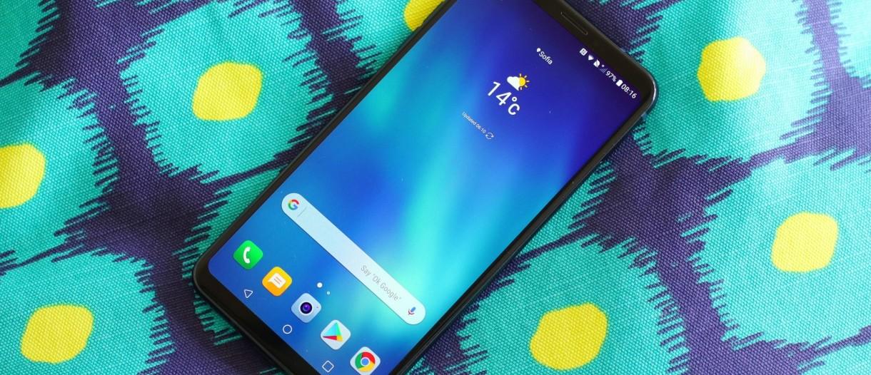 LG V30 starts receiving Android Pie update - GSMArena com news