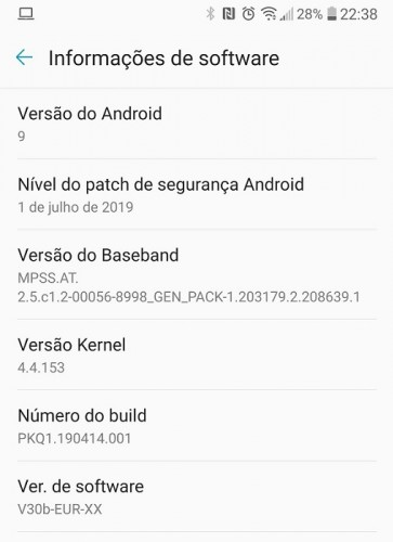 LG V30 starts receiving Android Pie update