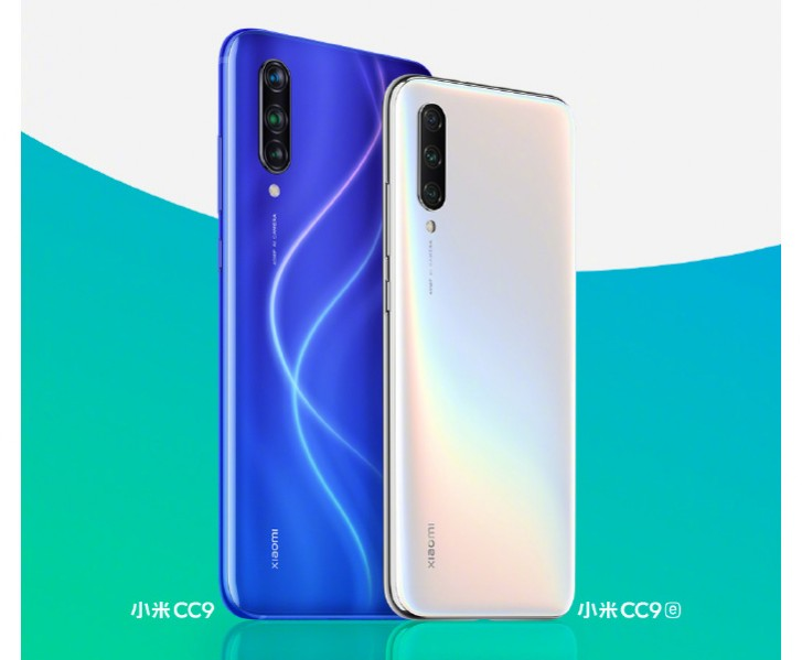 Xiaomi outs first official image of the Mi CC9 and Mi CC9e sitting pretty next to each other