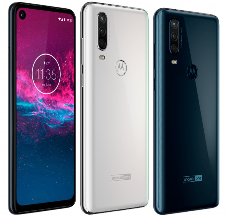 Motorola One Action smiles in newly leaked press renders