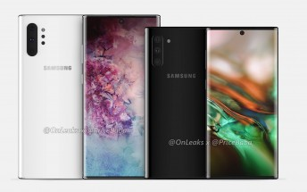 New leak details Galaxy Note10 and Note10+ screen resolutions, battery capacities