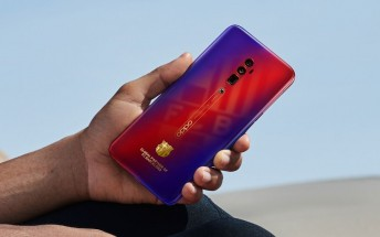 Oppo Reno 10x zoom FC Barcelona Edition is official