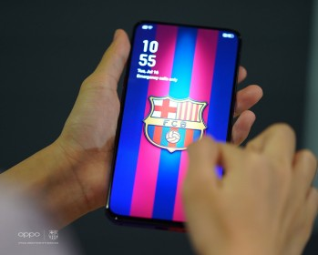 Oppo Reno 10x zoom FC Barcelona Edition UI