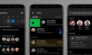 Here's Outlook's new dark mode for Android and iOS