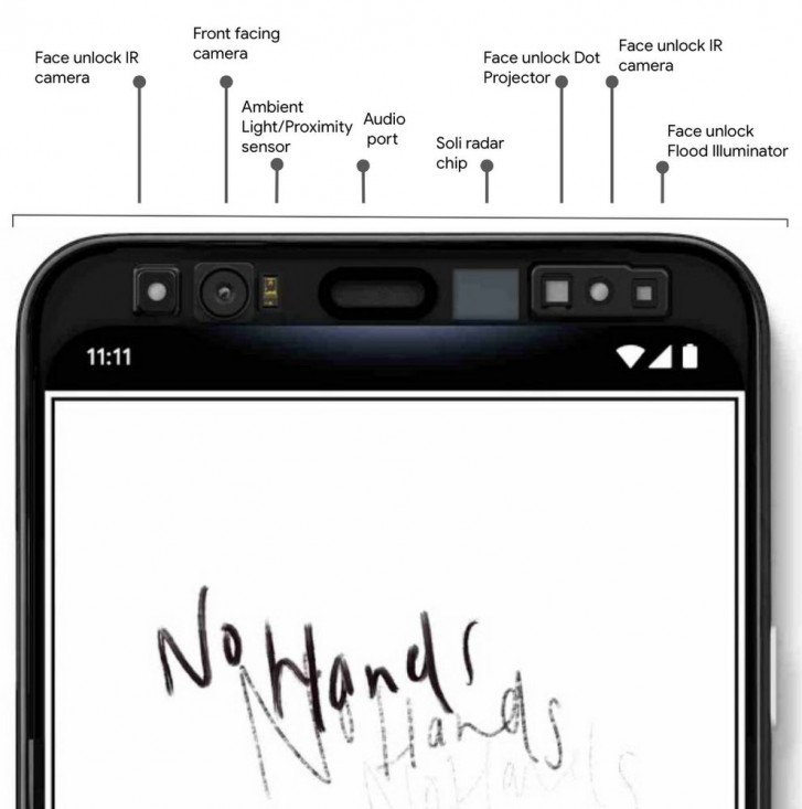 Google reveals Pixel 4 will have face unlock and motion gestures