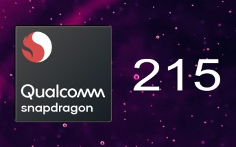 Snapdragon 215 unveiled: faster 64-bit CPU, dual camera support, still 28nm
