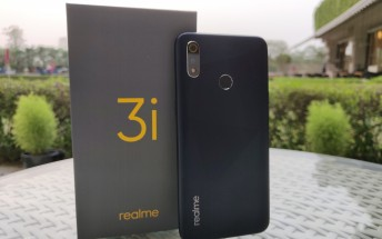 Realme 3i unveiled with Helio P60, 4,230 mAh battery and diamond-cut back